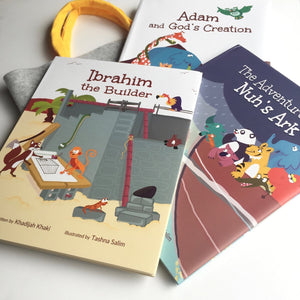 Prophet Series Book Bundle-Islamic Books-Lunar Learners-Crescent Moon Store