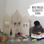 Load image into Gallery viewer, Mini Masjid Silhouette Stand-Home Decor-My 1st Masjid-Crescent Moon Store