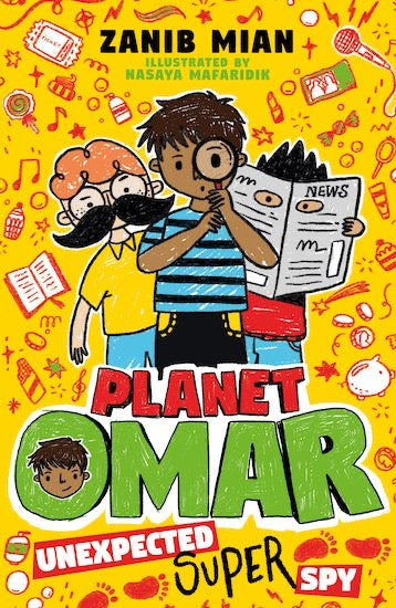 Planet Omar 2: Unexpected Super Spy-Islamic Books-Muslim Children's Books UK-Crescent Moon Store