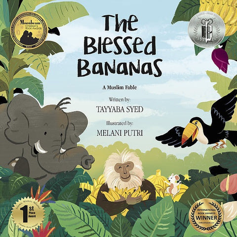 The Blessed Bananas: A Muslim Fable-Islamic Books-Prolance-Paperback-Crescent Moon Store
