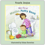 Load image into Gallery viewer, My First Muslim Potty Book-Islamic Books-Prolance-Crescent Moon Store