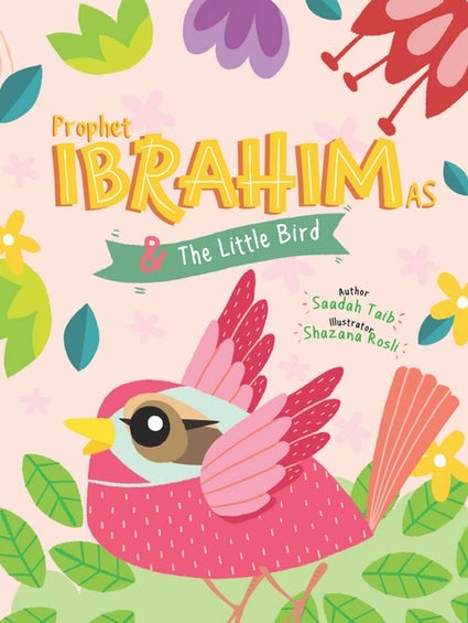 Prophet Ibrahim & The Little Bird Activity Book-Islamic Books-Kube Publishing-Crescent Moon Store