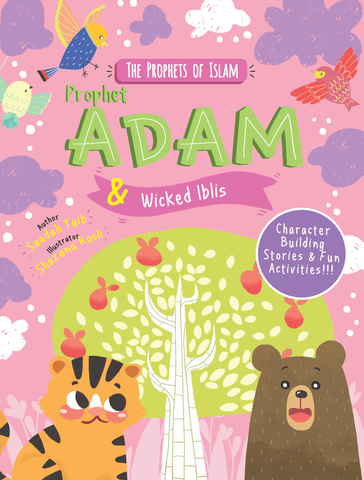 Prophet Adam and Wicked Iblis Activity Book-Islamic Books-Kube Publishing-Crescent Moon Store