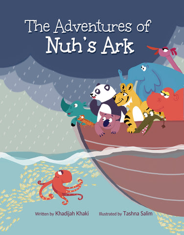 The Adventure of Nuh's Ark-Islamic Books-Lunar Learners-Crescent Moon Store