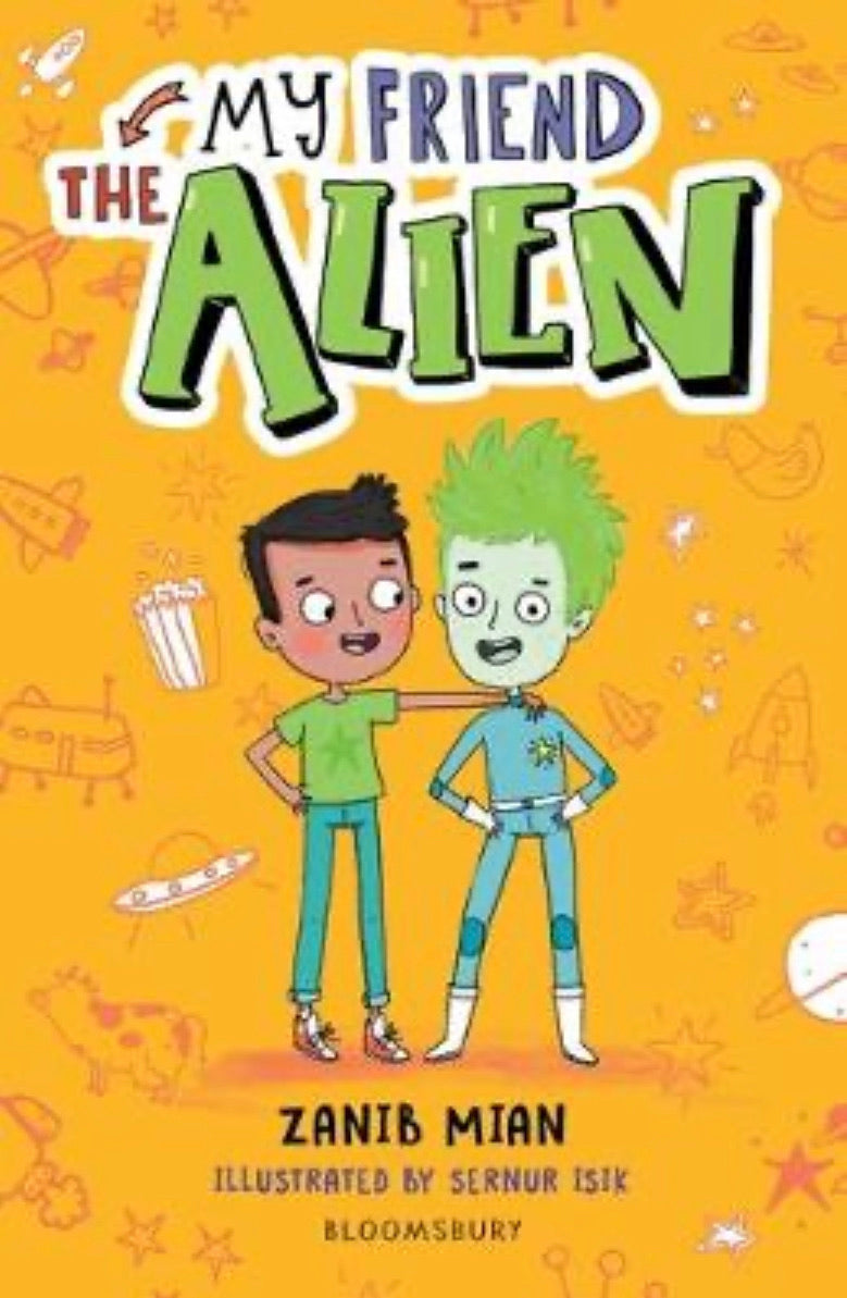 My Friend the Alien-Islamic Books-Muslim Children's Books UK-Crescent Moon Store