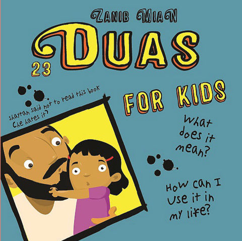 23 Duas for Kids Book-Islamic Books-Muslim Children's Books UK-Crescent Moon Store