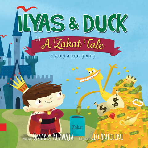 Ilyas & Duck - A Zakat Tale-Islamic Books-Little Big Kids-Crescent Moon Store