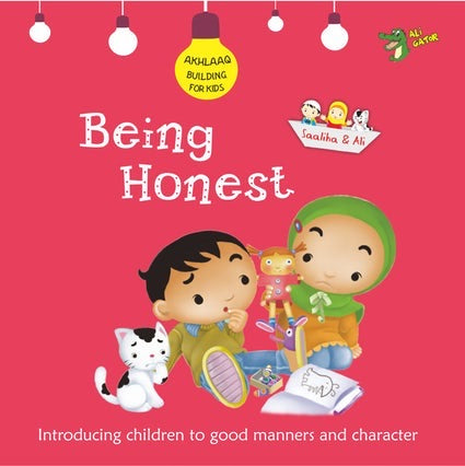 Akhlaaq Building Series: Being Honest-Islamic Books-Kube Publishing-Crescent Moon Store