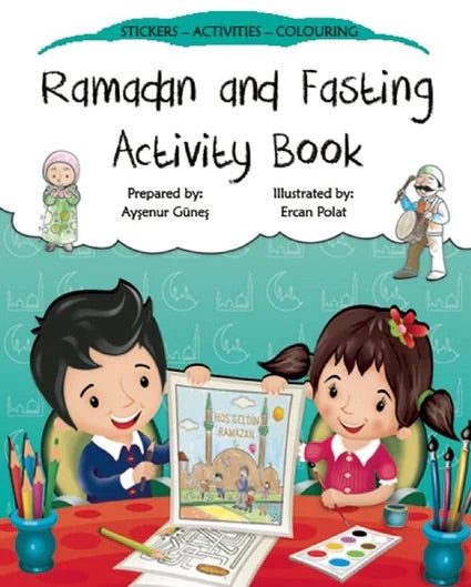 Ramadan and Fasting Activity Book-Islamic Books-Kube Publishing-Crescent Moon Store