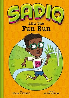 Sadiq and the Fun Run-Islamic Books-Picture Window Books-Crescent Moon Store