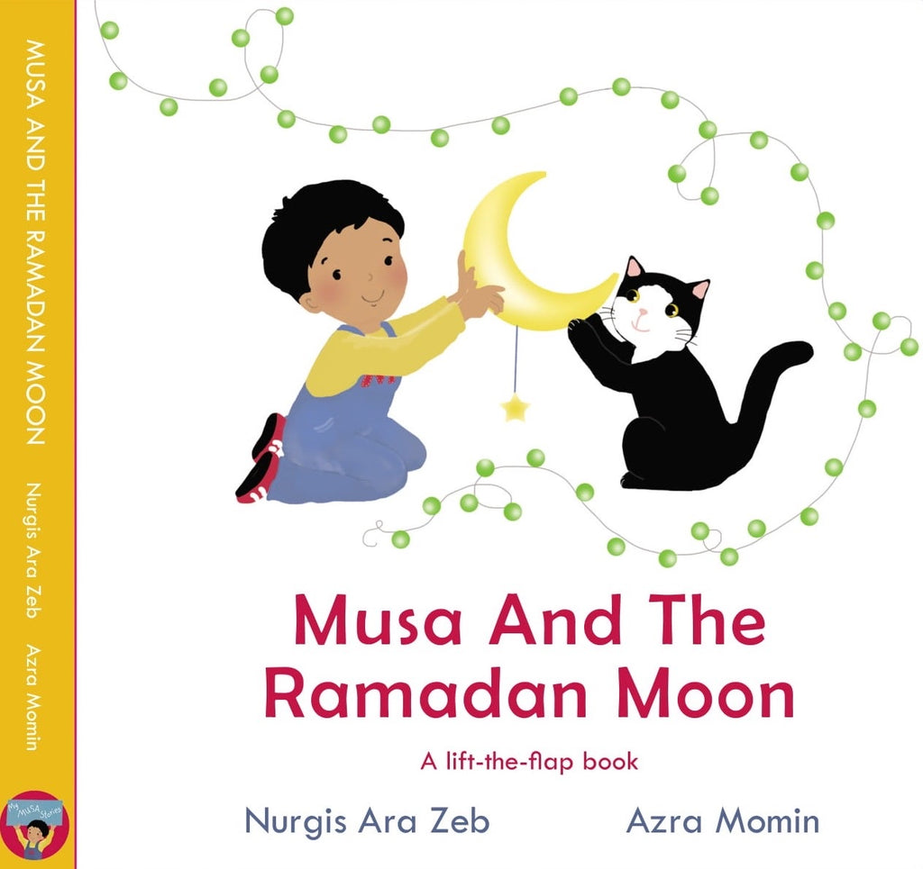 Musa And The Ramadan Moon-Islamic Books-My Musa Stories-Crescent Moon Store