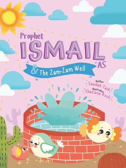 Prophet Ismail & The Zam-Zam Well Activity Book-Islamic Books-Kube Publishing-Crescent Moon Store