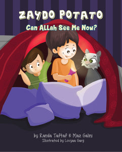 Zaydo Potato: Can Allah See Me Now?-Islamic Books-Rummana Publishing-Paperback-Crescent Moon Store