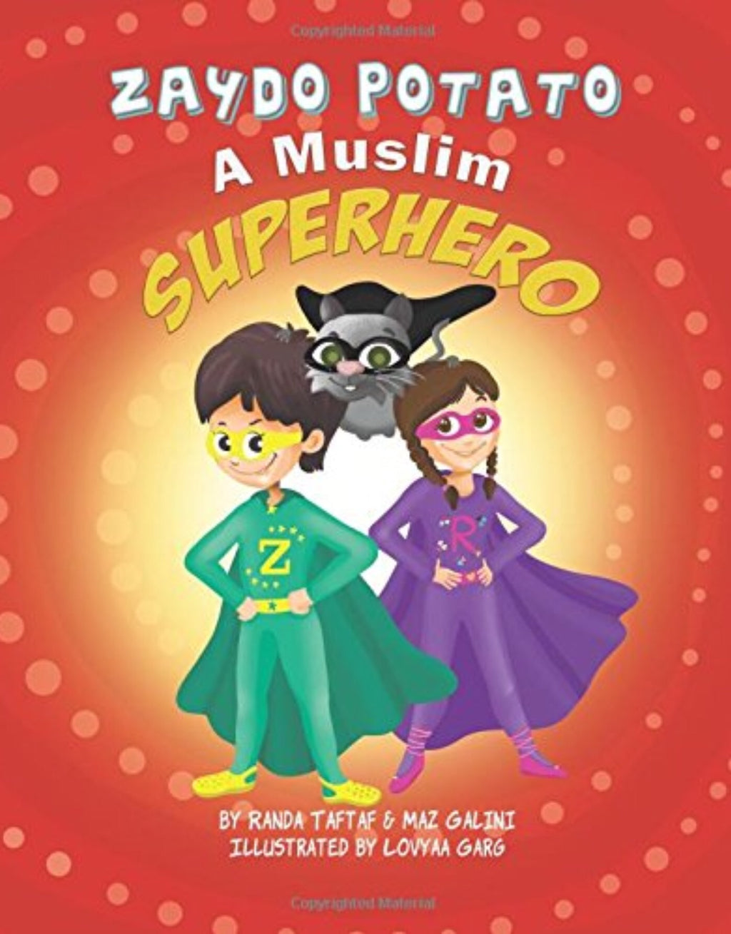 Zaydo Potato: A Muslim Superhero-Islamic Books-Rummana Publishing-Paperback-Crescent Moon Store