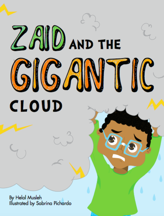 Zaid and the Gigantic Cloud-Islamic Books-Ruqaya's Bookshelf-Crescent Moon Store