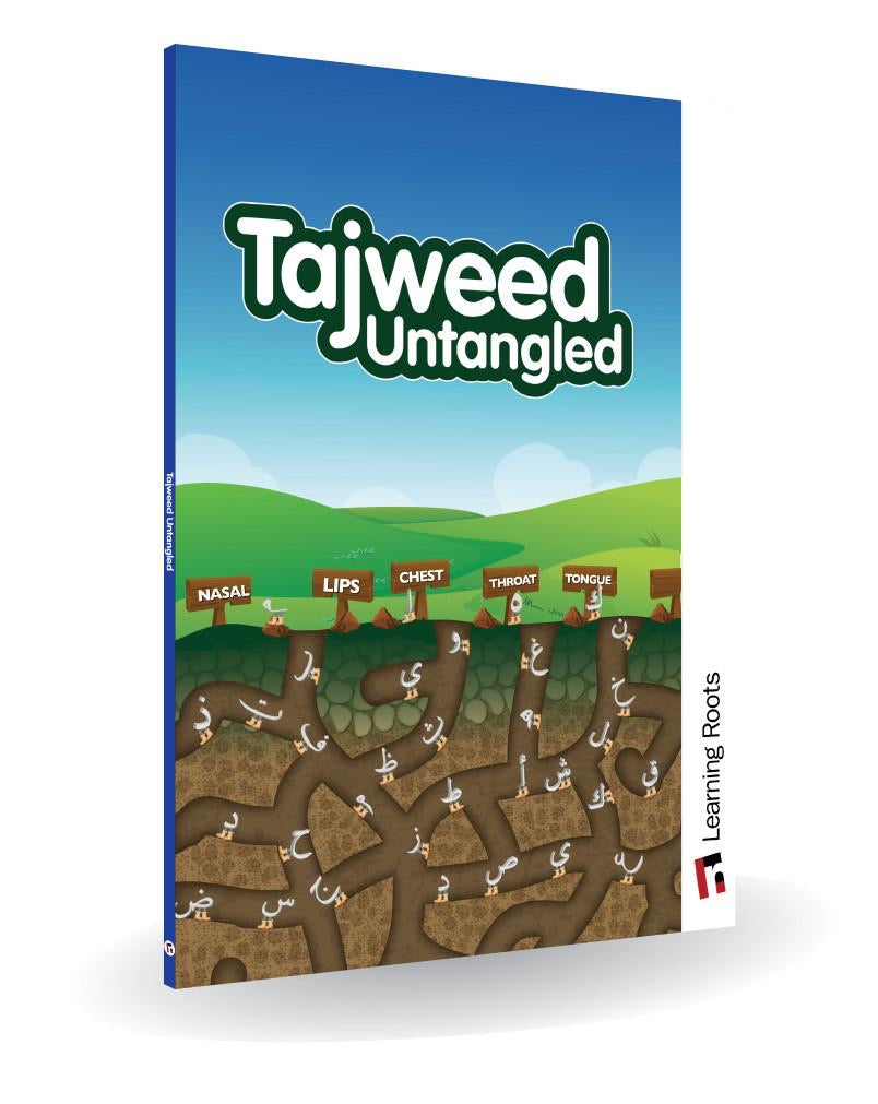 Tajweed Untangled-Islamic Books-Learning Roots-Crescent Moon Store