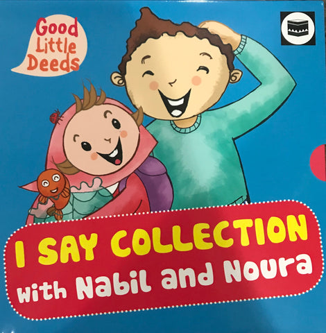 I Say Collection with Nabil and Noura-Islamic Books-The Islamic Foundation-I Say Collection 4 Book Box-Crescent Moon Store