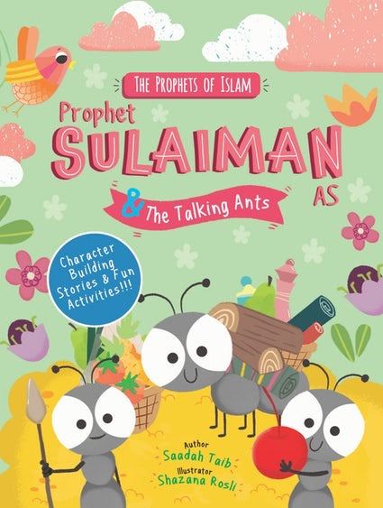 Prophet Sulaiman & The Talking Ants Activity Book-Islamic Books-Kube Publishing-Crescent Moon Store