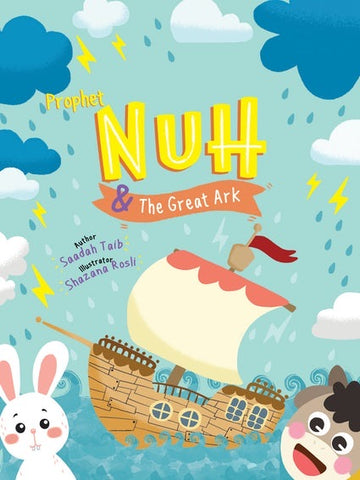 Prophet Nuh & The Greatest Ark Activity Book-Islamic Books-Kube Publishing-Crescent Moon Store