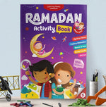 Load image into Gallery viewer, Ramadan Activity Book-Islamic Books-Learning Roots-Little Kids (5+)-Crescent Moon Store