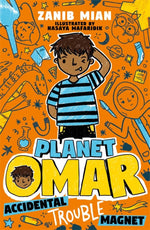 Load image into Gallery viewer, Planet Omar: Accidental Trouble Magnet-Islamic Books-Penguin Random House-Crescent Moon Store