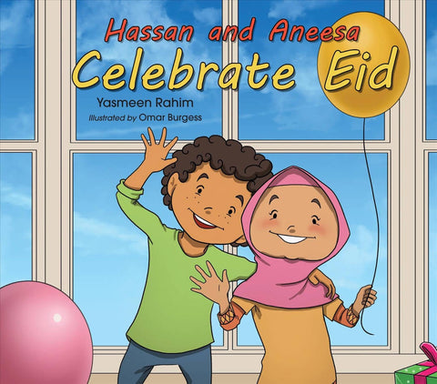 Hassan and Aneesa Celebrate Eid-Islamic Books-The Islamic Foundation-Crescent Moon Store
