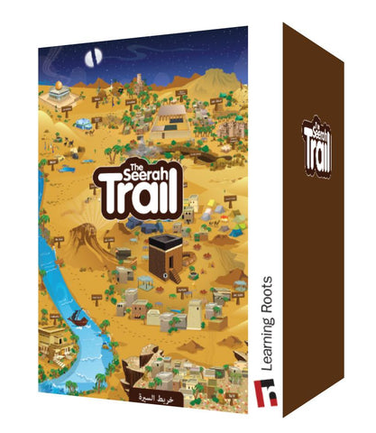 The Seerah Trail (Puzzle)-Toys & Games-Learning Roots-Crescent Moon Store
