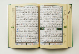 Deluxe Tajweed Quran (Arabic only) Large 7x9""
