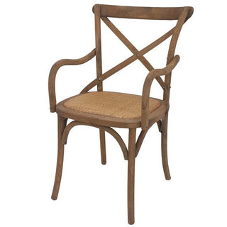 Essential Arm Chair Natural 55x58x88cmh