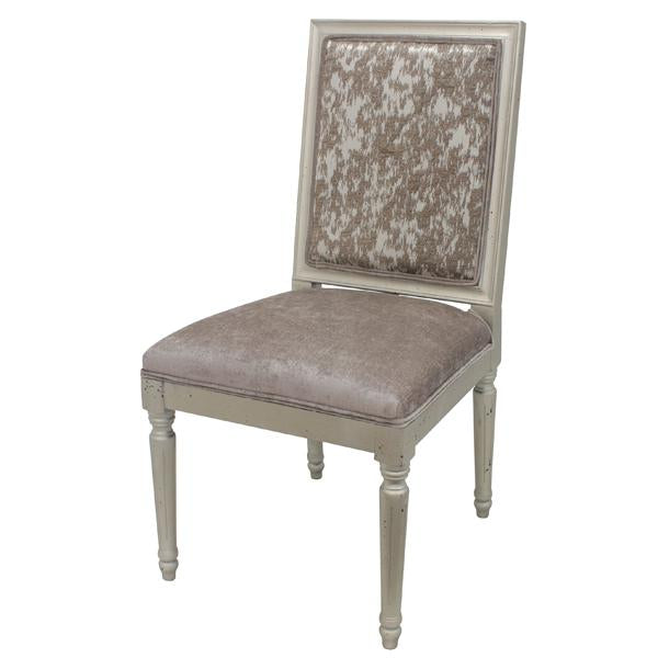 Antique Gold Dining Chair