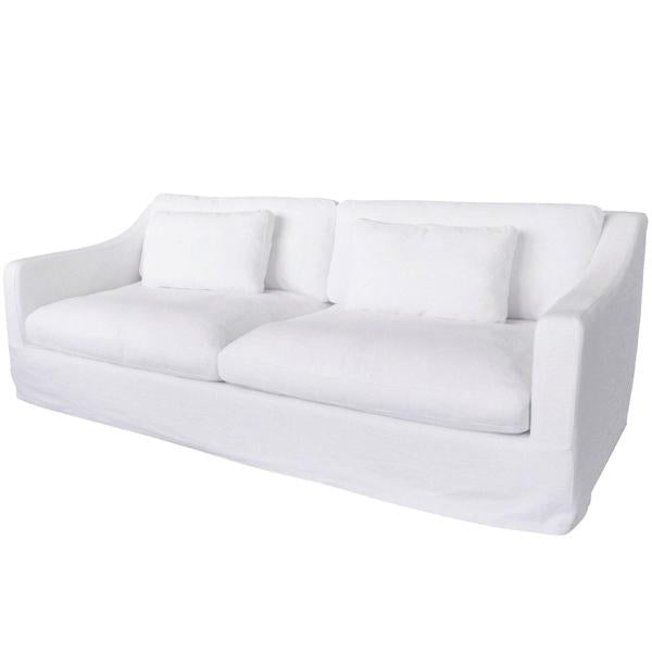 Nantucket 3 Seater Sofa-slip cover design replaceable