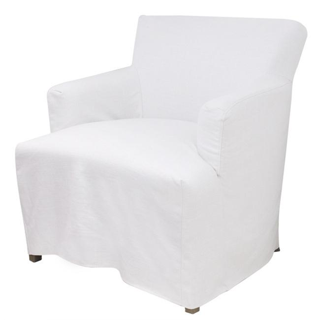 Nantucket Armchair Hampton's with removable slip cover Foam seat