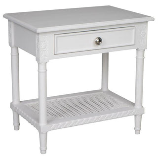Polo Side Table White