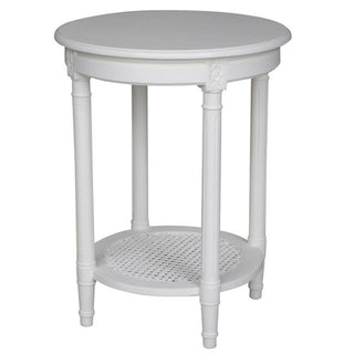 Polo Rd Side Table White Occasional Table