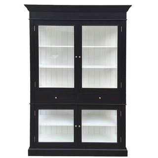 Zanzibar Decorator large 2 Door Display Case Glass Front