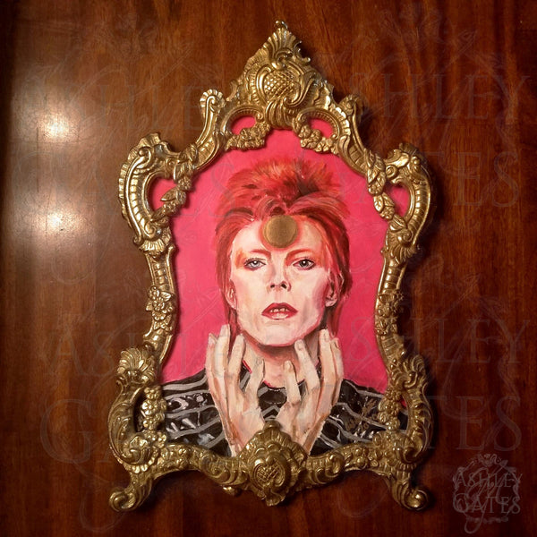 Ziggy Stardust David Bowie Painting Art