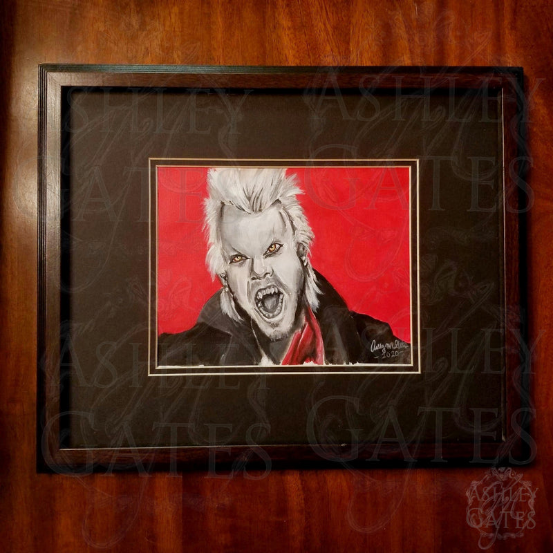 Lost Boys David Fangs Acrylic Painting Art