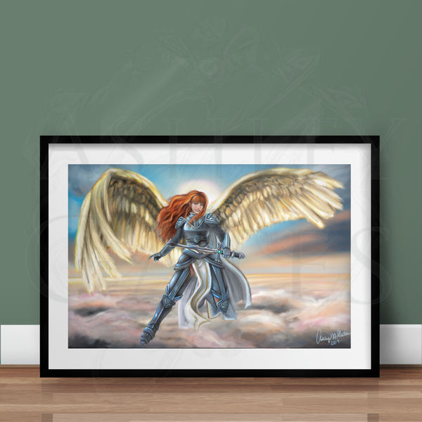 """Vigilance Angel"" Full Art Print"