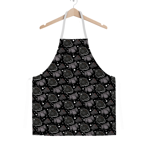 I Like My Coffee Black Classic Sublimation Adult Apron