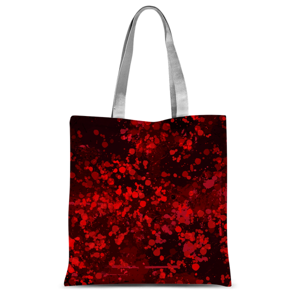 Dark Blood Splatter Classic Sublimation Tote Bag