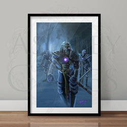 Zombie Army Full Art Print