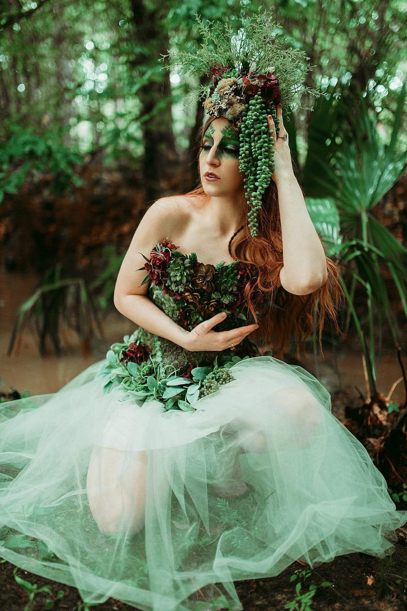 Ashley Gates Succulent Forest Dryad