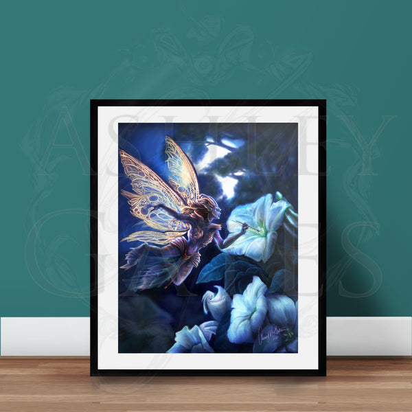 Moonflower Faerie Full Art Print