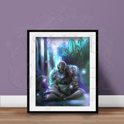 Alphonse Spirit Body Art Print