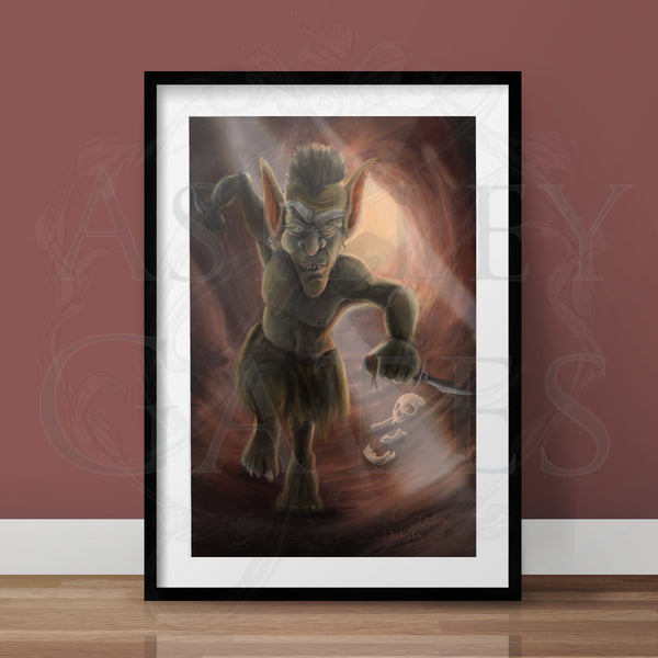 Creeping Goblin Full Art Print