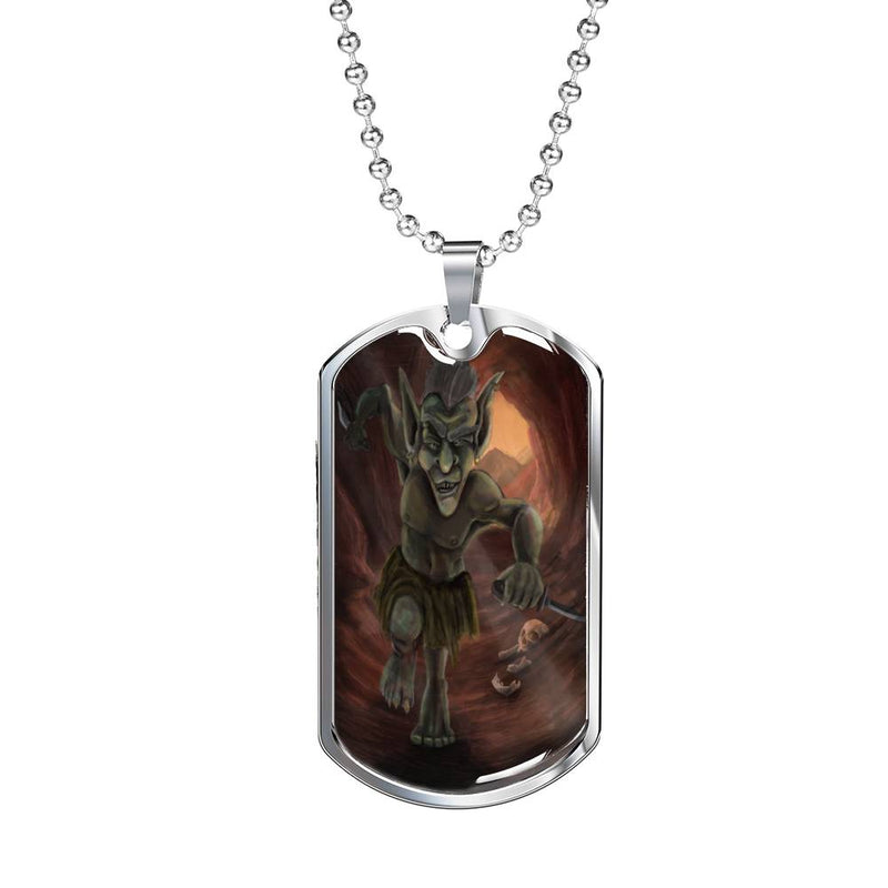 Creeping Goblin Dog Tag