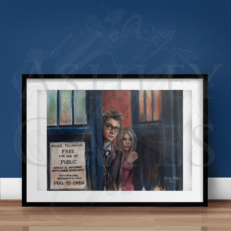 """The Doctor's Rose"" Print"