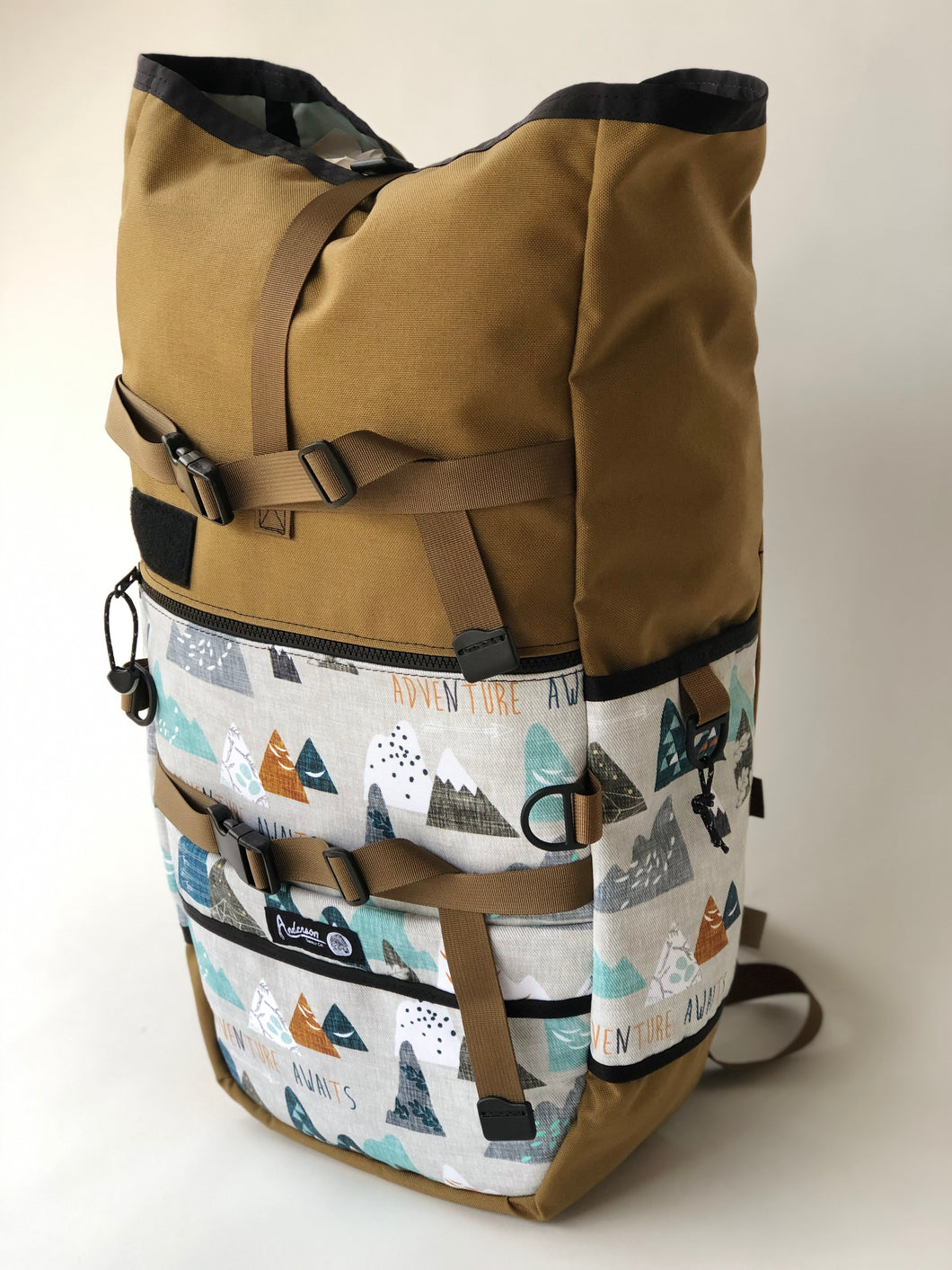 4.0 Coyote Brown + Adventure Awaits Backpack