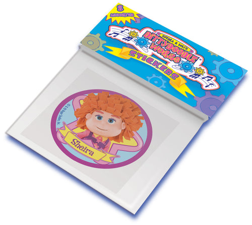 Dittydoodle Works Sticker Assortment (30 count)