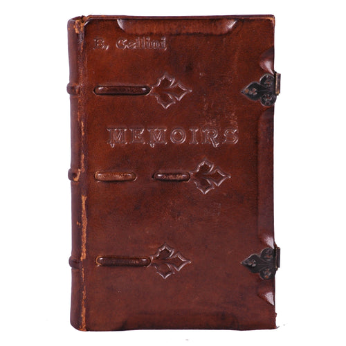 Leather Bound Book, Memoirs of Benvenuto Cellini, c.1925